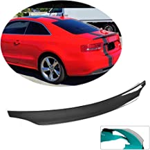 MCARCAR KIT Trunk Spoiler fits Audi S5 Coupe 2008-2016 Factory Outlet Carbon Fiber CF Rear Boot Lid Highkick Spoiler Wing Lip(Not for A5&A5 Sline&RS5)