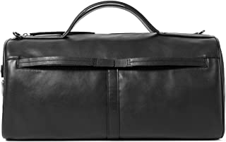Sharkborough Spain Viaje Men's Duffel Bag, Genuine Leather Overnight Travel Bag, for Gym Sports and Weekends