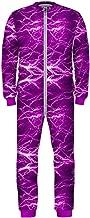 PattyCandy Little Big Girls Onesie Pajamas Lightning's Stars & Galaxy One Piece Romper Winter Jumpsuit