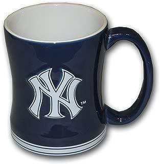 Boelter Brands MLB New York Yankees Relief Sculpted Mug, 15-Ounce