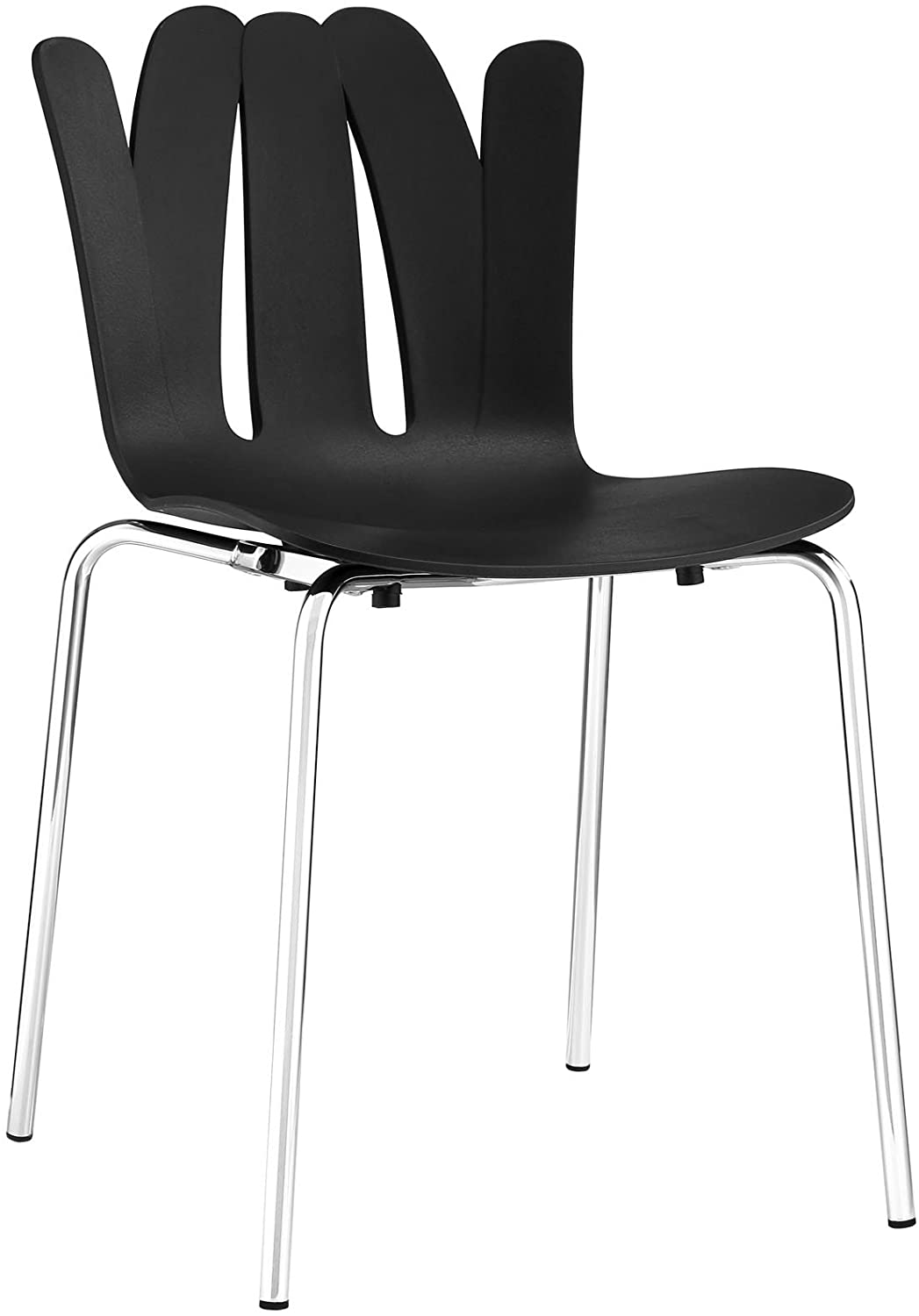 Modway Flare Dining Side Chair, Black
