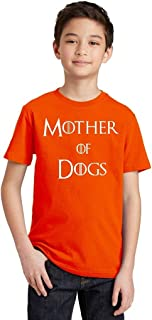 P&B Mother of Dogs Funny Youth T-Shirt