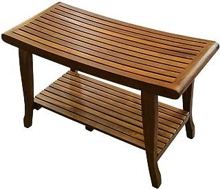 ALATEAK Indoor Outdoor Patio Garden Yard Bath Shower Spa Waterproof Stool Bench 30