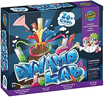 Learn & Climb 21 Experiments Science Set for Kids