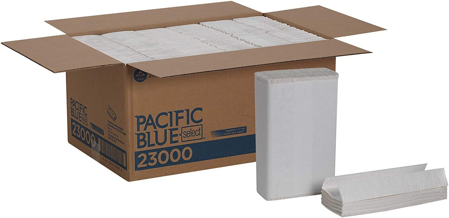 Gorgeous Pacific Blue Select Premium 2-Ply C-Fold Towels Paper New Shipping Free Shipping previousl
