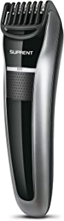 SUPRENT Beard Trimmer Adjustable length 7 Built-in Precise Lengths 2mm-14mm Beard Trimmer with 1 hour Fast&Quick USB Charge, Li-ion Battery