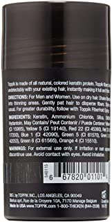 TOPPIK Hair Building Fibers 0.42 oz Black