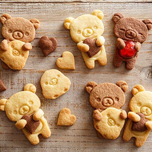 貝印『スタンプで表情が作れるだっこクッキー型リラックマ』