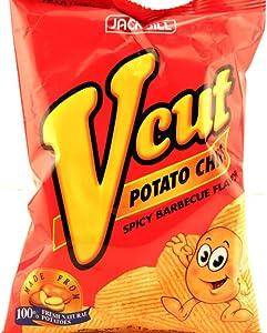 Jack N Jill Vcut Potato Chips Spicy BBQ Flavor, 60g