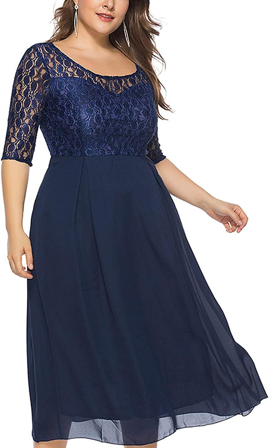 Rather be Plus Size Club Midi Formal Dress Women Clothing Fashion Word Elegant Office Two Piece Party Dresses