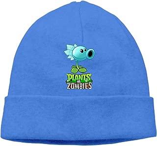 WOW(2-2) Unisex Plants Vs. Zombies Logo Skull Beanie Winter Cap Hat