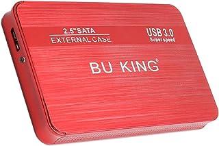 Gazechimp 2,5 ''40G externe harde schijf USB 3.0 data overdracht HDD box geval rood