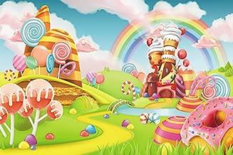 candyland themed backdrop