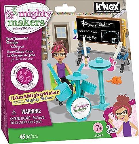 Seleccione de las marcas más nuevas como K'NEX Mighty Makers Makers Makers - Jess' Jammin' Garage Building Set by K'Nex  ahorre 60% de descuento