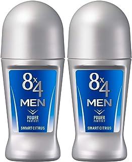 エイトフォーメン 【まとめ買い】 8x4メン ロールオン スマートシトラス 60ml×2個セット 爽やかなビターシトラスの香り
