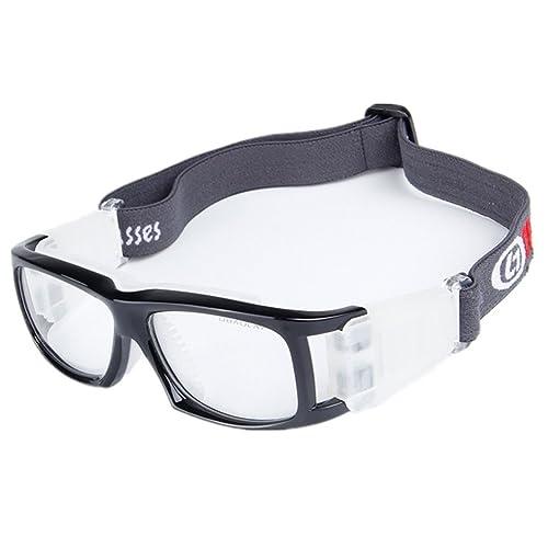 cf7582c9ebb Wonzone Basketball Football Avant-garde Fashion Sports Glasses Antifog Anti  Shock Collision Wearable Glasses Sports