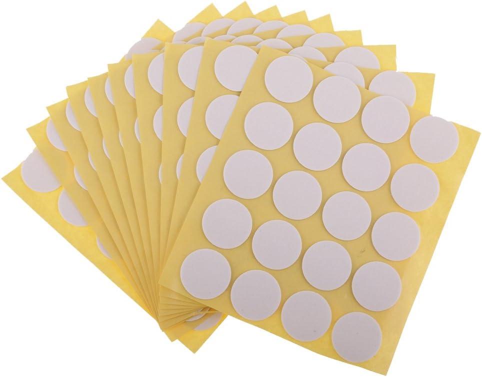 Pegatinas de mecha de vela, hechas de pegamento resistente al calor, se adhieren de forma estable en cera caliente para hacer velas 100 Piezas