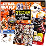 Star Wars Party Favors Set ~ Star Wars Craft Bundle Includes Over 1100 Star Wars Stickers and Star Wars Temporary Tattoos for Kids