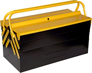 DANNIO 5-Tray Cantilever Steel Tool Box, Portable Tool Cabinet Tool Storage Organizer (TB102-3, Large)