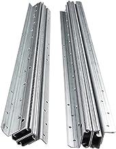 2 STKS Lade Dia's, 3 vouw Volledig Uitgebreid Metaal Staal Heavy-Duty Kogellager Rails, Ondersteunende Bottom Installatie ...