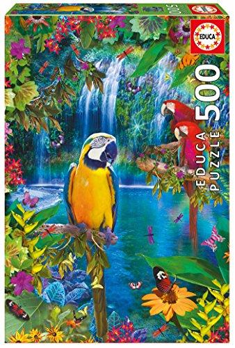 Educa Puzzle 500 Peças - Paraíso Tropical - 15512