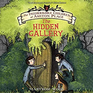 The Hidden Gallery audiobook cover art
