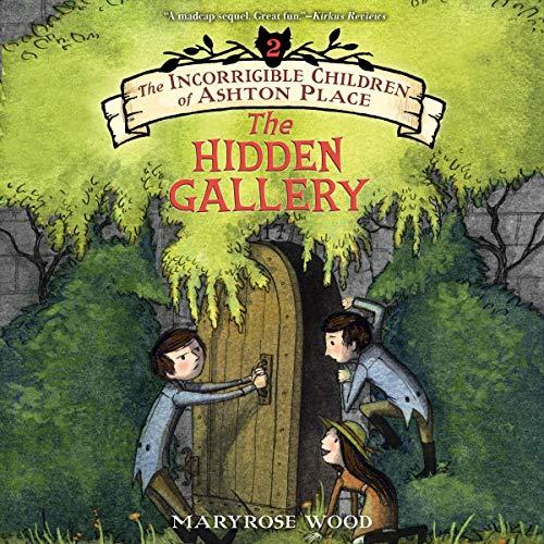 The Hidden Gallery audiobook cover art