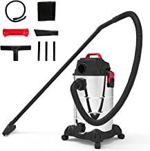 Wet and Dry 4-in-1 Dual-Purpose Vacuum Cleaner with Multi-Function High-Energy Filtration System, Suitable for Pet Hair, D...