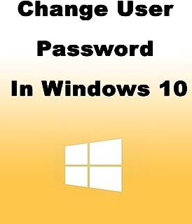 How to Change User Password in Windows 10