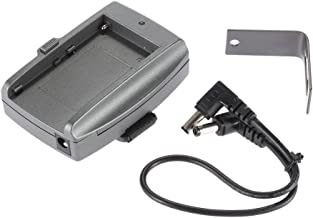 Andoer Battery Adapter Plate Base for Sony NP-F970 F750 F550 Battery with cable