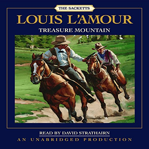 Treasure Mountain audiobook cover art
