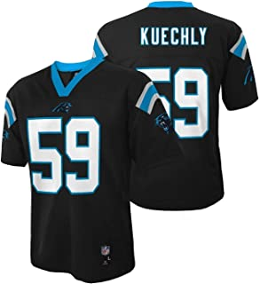 Outerstuff Luke Kuechly Carolina Panthers Black Mid Tier Kids Jersey
