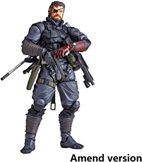 Lilongjiao Vulcanlog 004: Metal Gear Solid V: The Phantom Pain: Venom Snake Figure (Sneaking Suit Version) PVC Figure - High 5.9 Inches