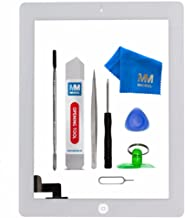 MMOBIEL Digitizer Compatible with iPad 2 (White) 9.7 Inch Touchscreen Front Display Assembly Incl Tool kit