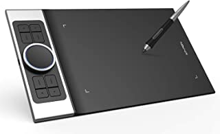 XP-Pen ペンタブ 携帯・スマホで使える傾き検知機能付きペンタブ 筆圧8192 充電不要ペン PC:Windows7以上&Mac10.10以上対応 携帯:Android6.0以上対応 ペンタブ Deco Pro Small