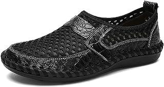GBZLFH Chaussures de Voile pour Hommes légères, Sandales de Plage en Maille Coupe-Vent, Baskets en Mesh Pieds Nus Respiran...