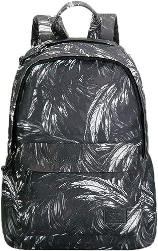 Student wasserdichter Rucksack, Laptop-Tasche College Rucksack verschlei sten Rucksack mit Größer Kapazit Outdoor Sports Reisetasche (Farbe   C)