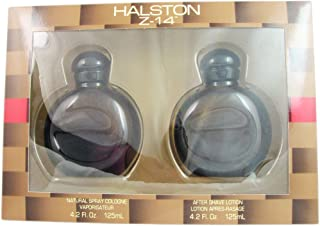 Halston Z-14 By Halston For Men. Set-cologne Spray 4.2 Ounces & Aftershave 4.2 Ounces