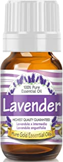 Pure Gold Lavender Essential Oil, 100% Natural & Undiluted, 10ml