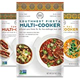 Vegetarian Gourmet Spice Blends for Home Cooking (Pack of 6) Seasoning Pack For Instant Pot, Crock pot, Slow Cooker, and One Pot Meals - Non GMO, Low/No Salt, Gluten Free, Keto Friendly, Paleo