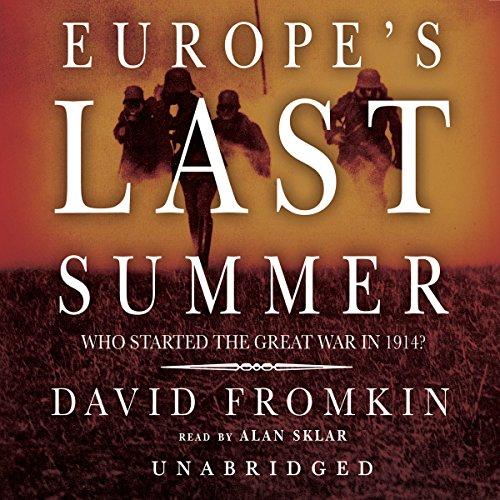Europe's Last Summer audiobook cover art