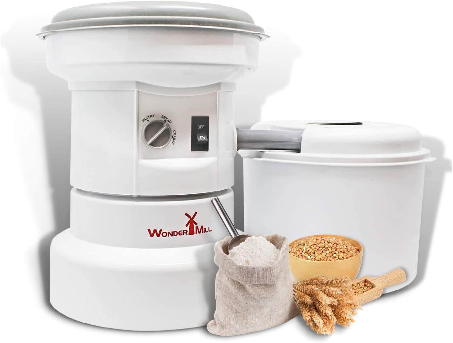 Powerful Electric Grain Mill Grinder Home Professional U for and Ranking New item TOP16
