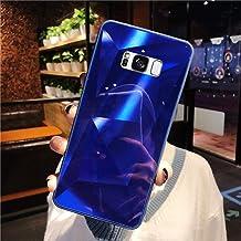 URFEDA Compatibel met Samsung Galaxy S8 Plus telefoonhoesje Diamond Glitter Case met spiegeleffect Sparkly Bling TPU Silic...