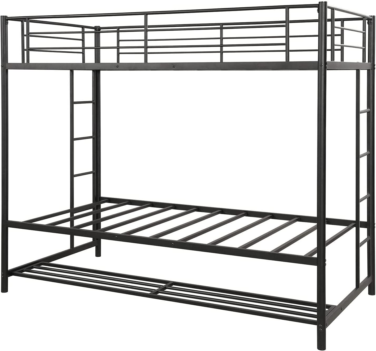 GXK Twin Over Long Beach Mall Bunk Bed with Storage Heavy Duty Fr Discount mail order Metal
