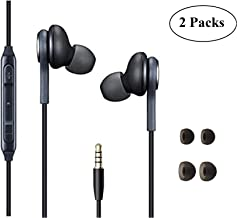 in Ear Stereo Headphones with Microphone Compatible with Galaxy S10 S10+S9/S9+ S8/S8+..