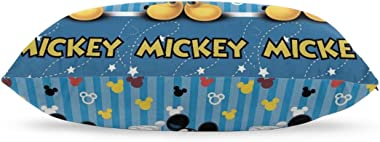 """Meirdre Pillow Cases Blue Mickey Mouse Standard Tthrow Pillow Covers Cushion Cover 20""""x30"""""""