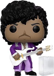 Funko Pop! Rocks: Prince - Purple Rain Vinyl Figure (Includes Pop Box Protector Case)