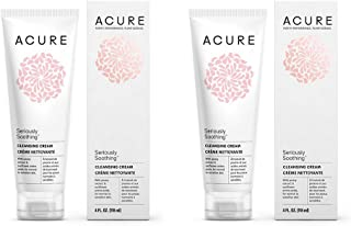 Acure Organics Natural Sensitive Face Wash Cleanser With Argan Oil For Face, Jojoba Oil, and Aloe Vera Extract With No Har...