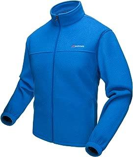 Men's Fleece Jacket Outdoor Windproof Softshell Full Zip Winter Coat