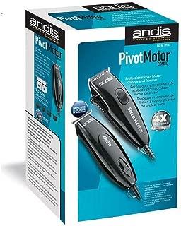 Professional Andis Speed Master Clipper + Pivot Pro Trimmer Black +4oz Oil Combo No.141